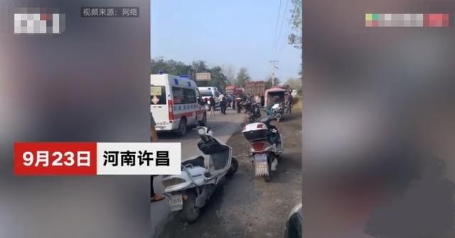 河南一幼儿园接送车与货车相撞 致4死9伤